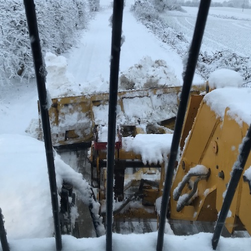 Yorkshire Gritters Pickup Gritter